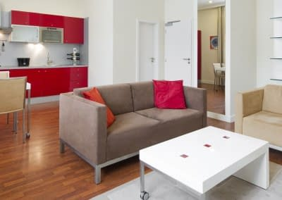 Mamaison Residence Sulekova Bratislava Executive-Apartment-Red-03